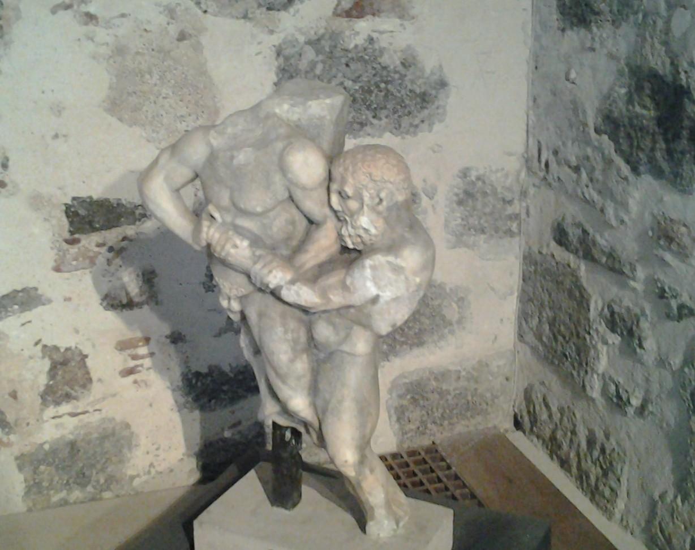 Hercule et Antée